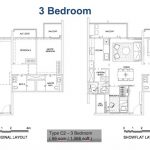 Alps Residences Floor Plan 3 Bedroom