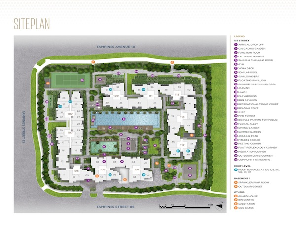 Alps Residences Site Plan