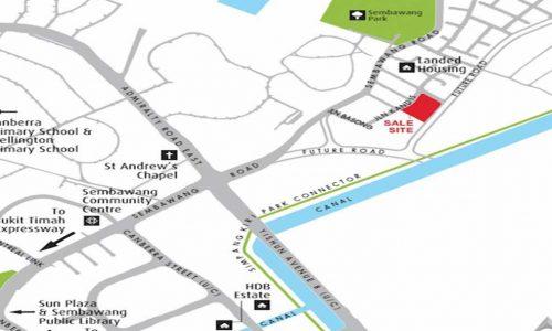 Kandis Residence showflat Location Map