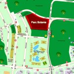 Parc Botannia Location Map Next to Thanggam LRT Station
