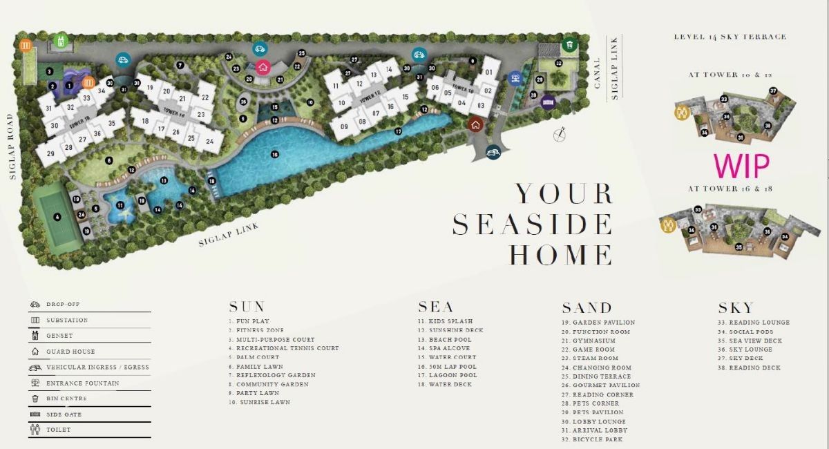 Seaside Residences Site Plan