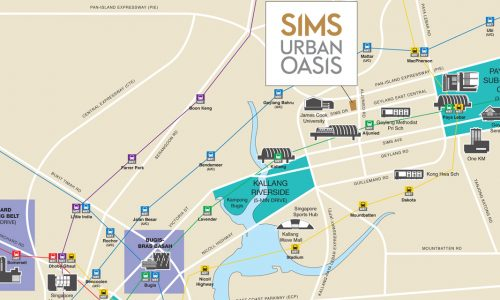 Sims Urban Oasis Location