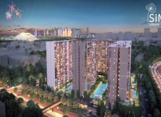 sims urban oasis showflat building