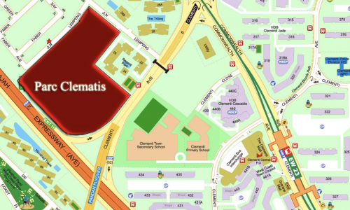 Parc Clematis showflat